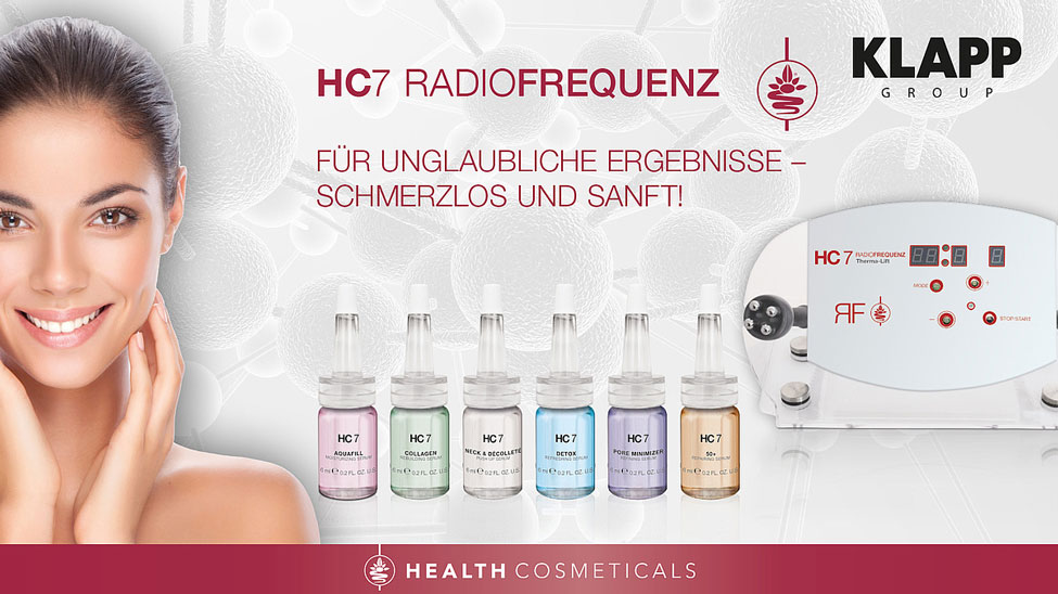 Beauty Lounge Essen Radio Frequenztherapie HC7 KLAPP
